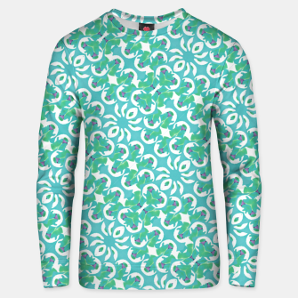 Colorful Abstract Print Pattern Unisex sweater obraz miniatury