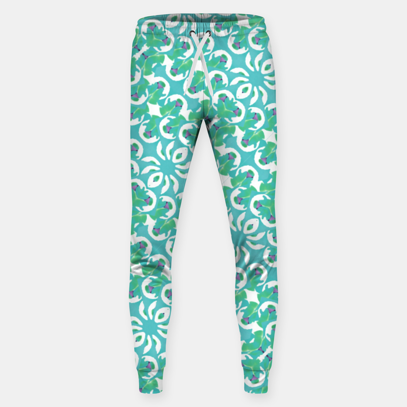 Zdjęcie Colorful Abstract Print Pattern Sweatpants - Live Heroes