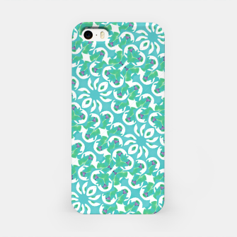 Colorful Abstract Print Pattern iPhone Case obraz miniatury