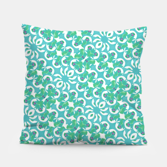 Colorful Abstract Print Pattern Pillow obraz miniatury