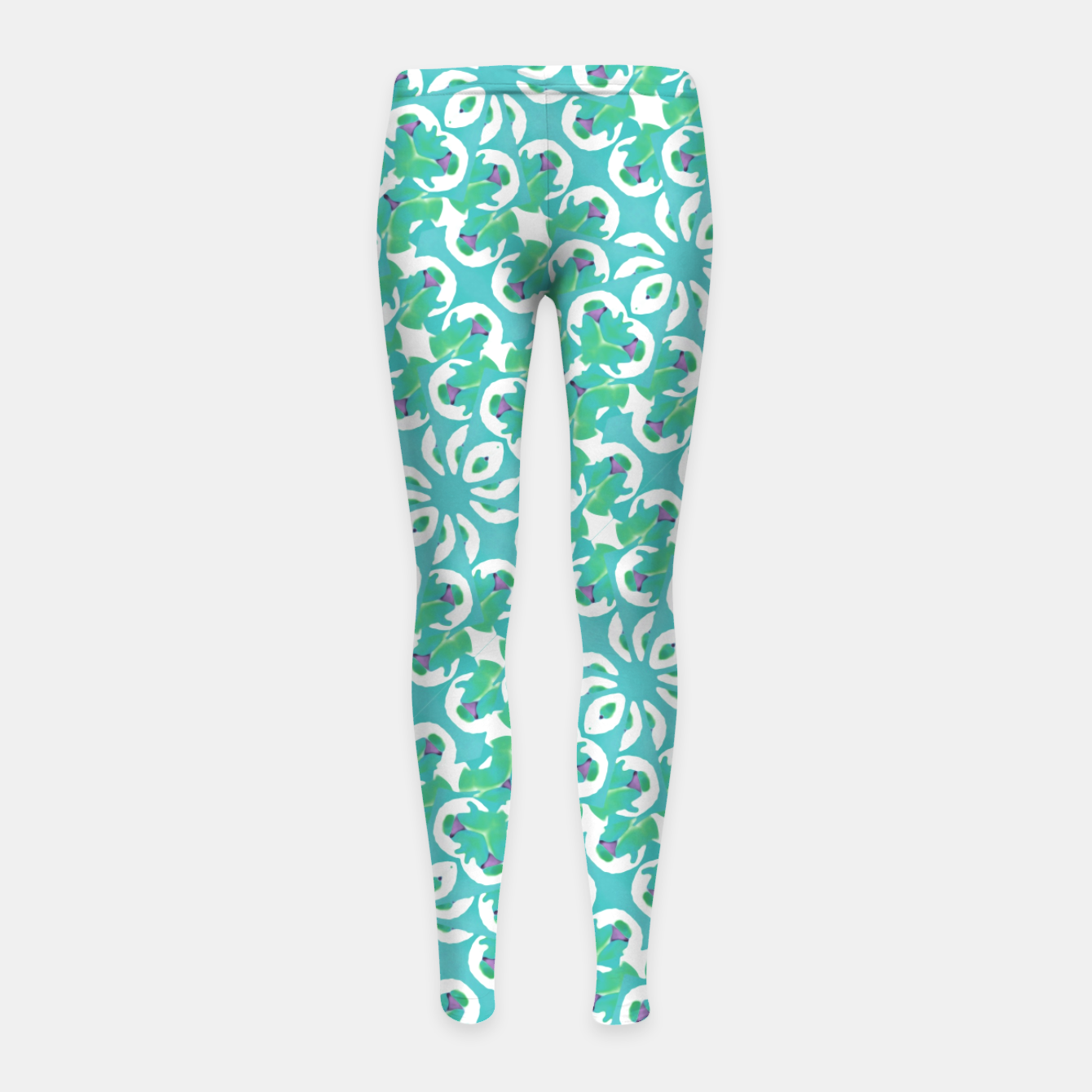 Zdjęcie Colorful Abstract Print Pattern Girl's leggings - Live Heroes