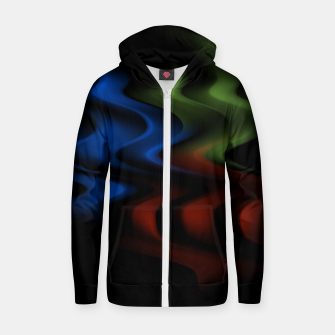 Thumbnail image of Three Zip up hoodie, Live Heroes