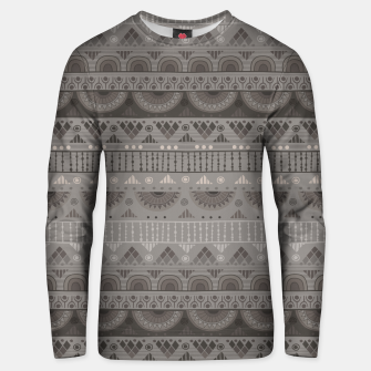 Thumbnail image of Tribal Pattern - 11 Soft Grey Unisex sweater, Live Heroes