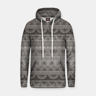 Thumbnail image of Tribal Pattern - 11 Soft Grey Hoodie, Live Heroes