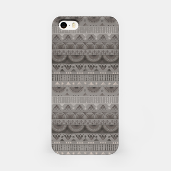 Thumbnail image of Tribal Pattern - 11 Soft Grey iPhone Case, Live Heroes