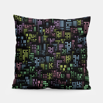 Thumbnail image of Night city lights Pillow, Live Heroes