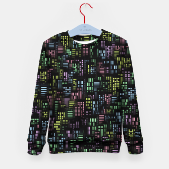 Thumbnail image of Night city lights Kid's sweater, Live Heroes