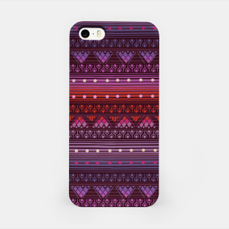 Thumbnail image of Tribal Pattern - 13 Reddish Pink iPhone Case, Live Heroes
