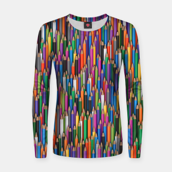 Thumbnail image of Сolour pencils Women sweater, Live Heroes
