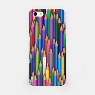 Thumbnail image of Сolour pencils iPhone Case, Live Heroes