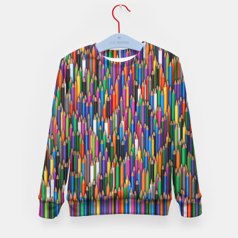 Thumbnail image of Сolour pencils Kid's sweater, Live Heroes