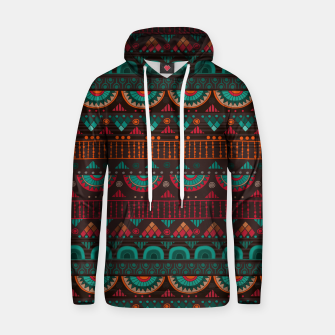 Thumbnail image of Tribal Pattern - 14 Red Green Hoodie, Live Heroes