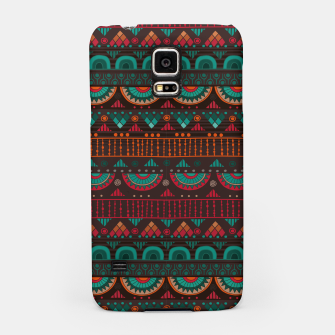 Thumbnail image of Tribal Pattern - 14 Red Green Samsung Case, Live Heroes