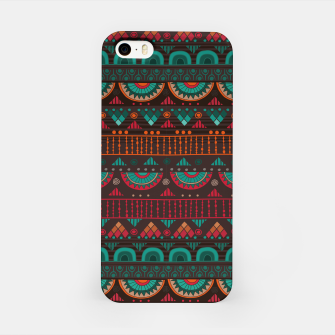 Thumbnail image of Tribal Pattern - 14 Red Green iPhone Case, Live Heroes