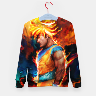 Thumbnail image of dragon ball Kid's sweater, Live Heroes