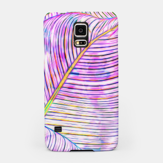 Thumbnail image of Ultraviolet Banana Leaves Samsung Case, Live Heroes