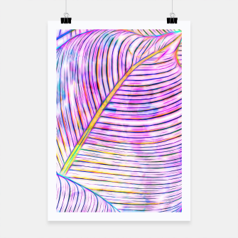 Thumbnail image of Ultraviolet Banana Leaves Poster, Live Heroes
