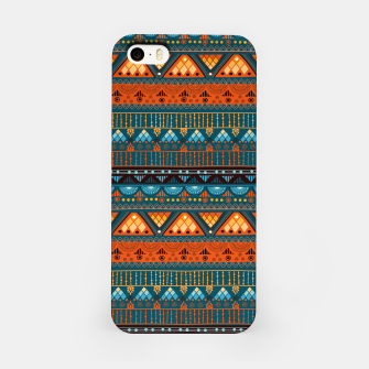 Thumbnail image of Tribal Pattern - 15 Orange Blue iPhone Case, Live Heroes