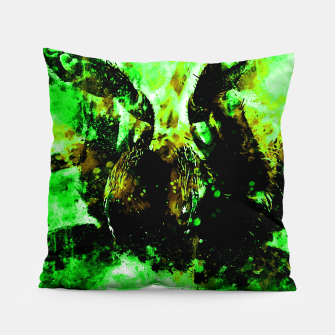 tarantula fangs wsbtg Pillow miniature