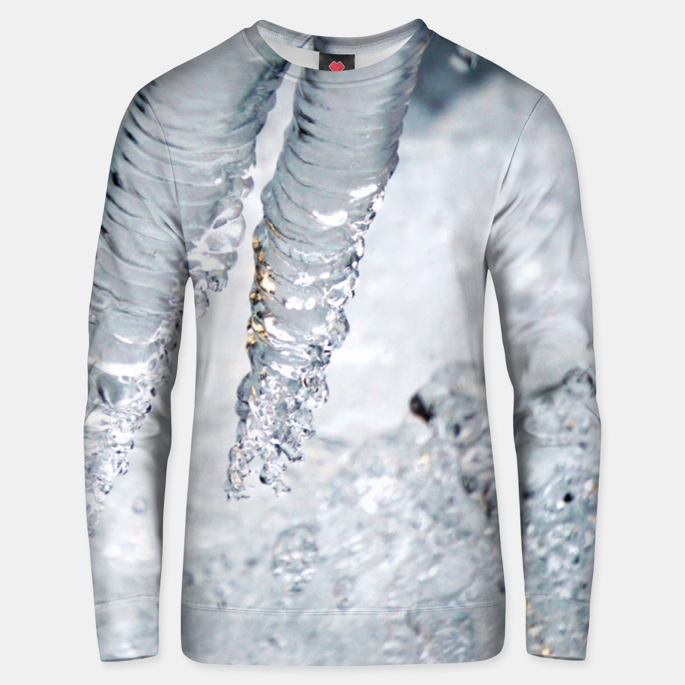 Image de Natural ice sculpture  Unisex sweater - Live Heroes