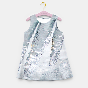 Thumbnail image of Natural ice sculpture  Girl's summer dress, Live Heroes