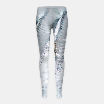 Thumbnail image of Natural ice sculpture  Girl's leggings, Live Heroes