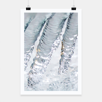 Thumbnail image of Natural ice sculpture  Poster, Live Heroes