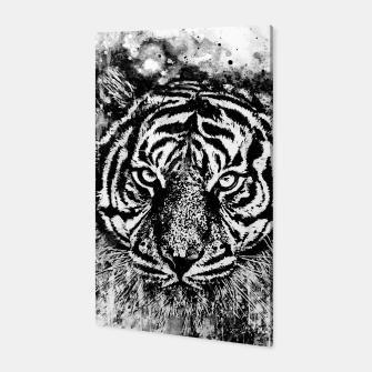 Thumbnail image of tiger head portrait wsbww Canvas, Live Heroes
