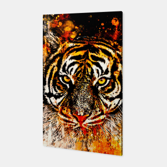 Thumbnail image of tiger head portrait wsb Canvas, Live Heroes