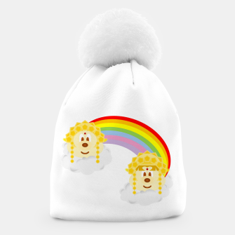 Miniaturka Gold Goddess Hat 鮑 鮑 in Rainbow, Live Heroes