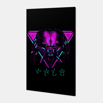Thumbnail image of Retro predator Canvas, Live Heroes
