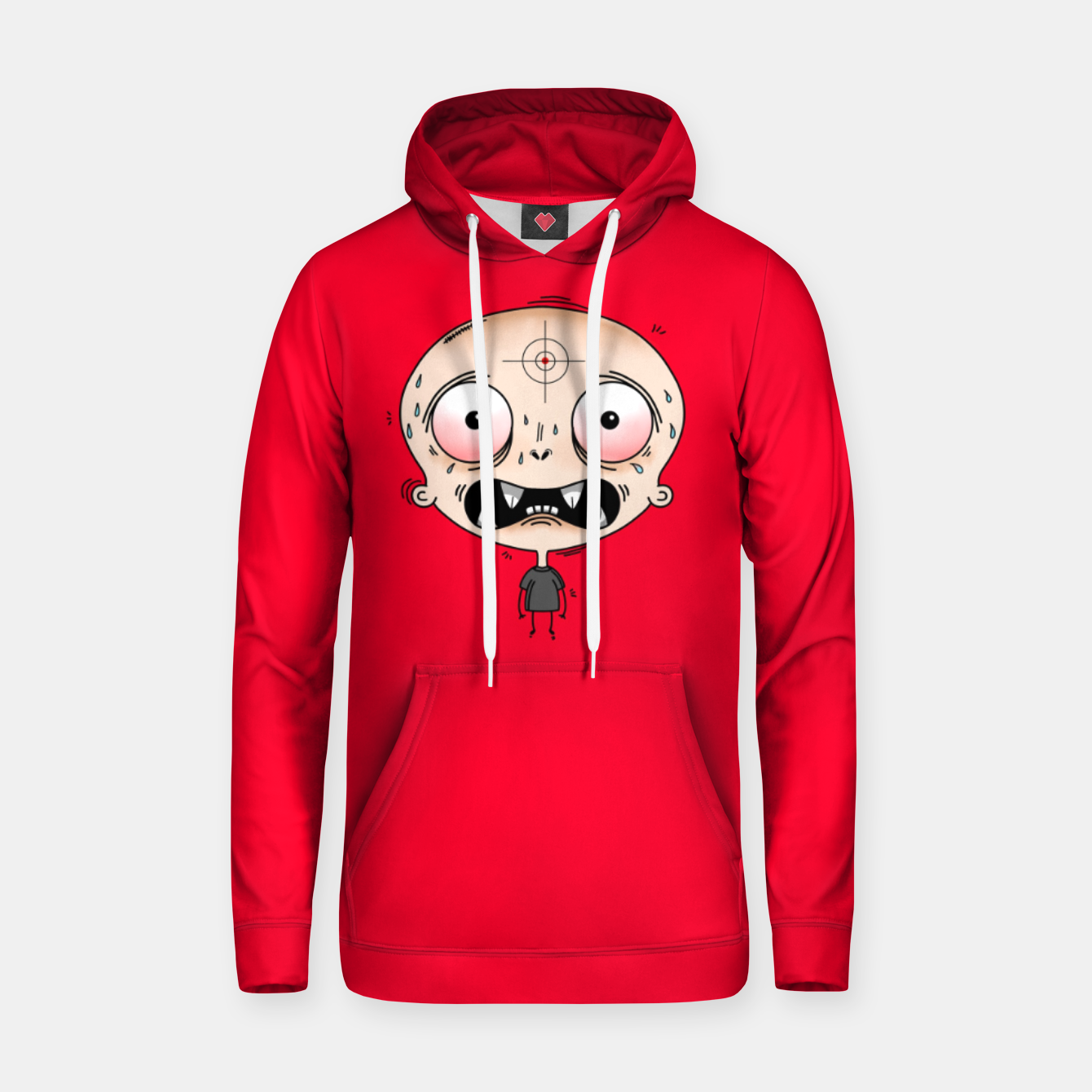 Image of Hunted Sudadera con capucha - Live Heroes