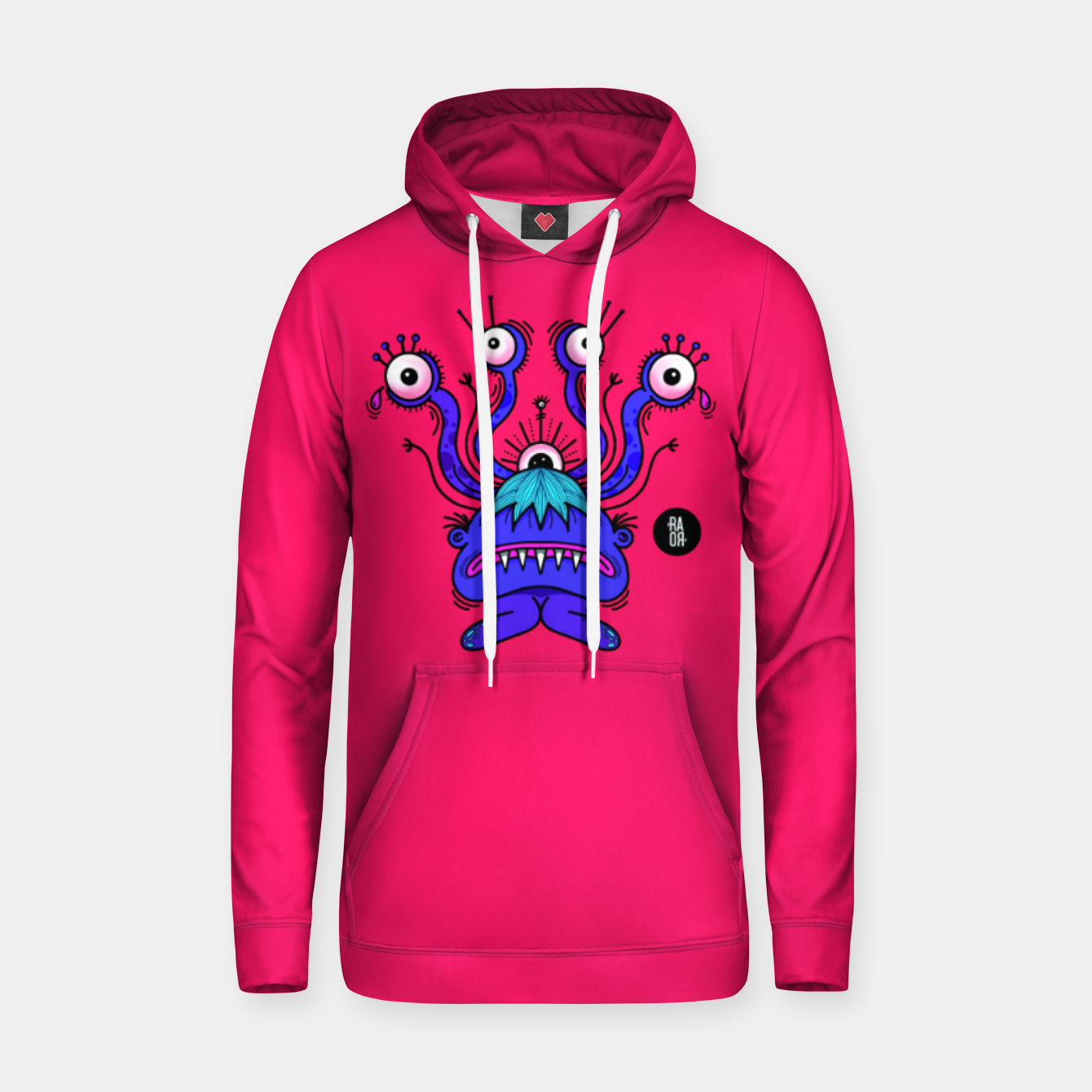 Image of Monster Sudadera con capucha - Live Heroes
