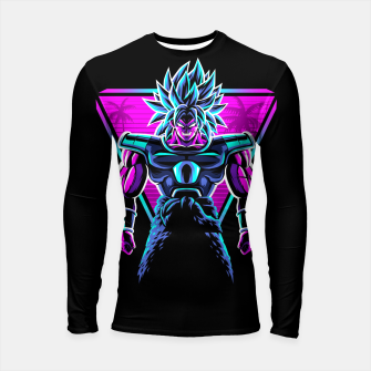 Thumbnail image of Retro legendary Warrior Longsleeve rashguard, Live Heroes
