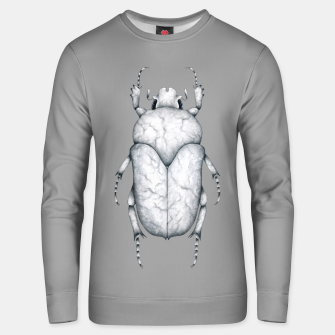 Miniaturka Marble Beetle (Grey Background) Unisex sweater, Live Heroes