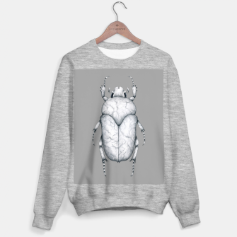 Thumbnail image of Marble Beetle (Grey Background) Sweater regular, Live Heroes