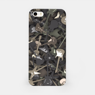 Guitar camouflage iPhone Case miniature