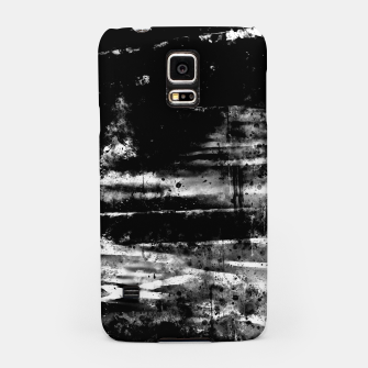psychedelic sky clouds pattern wsbw Samsung Case miniature