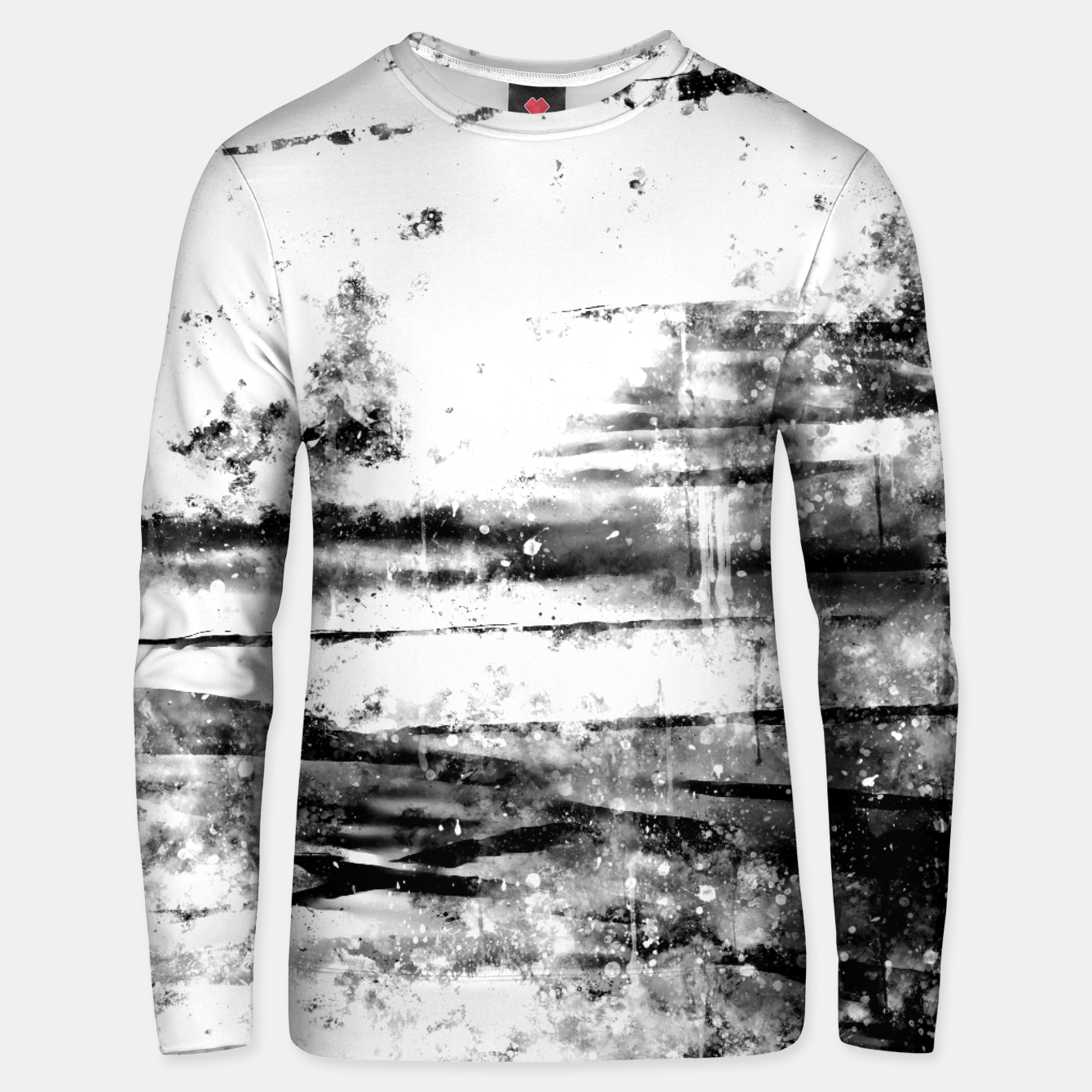 Image de psychedelic sky clouds pattern wsbwi Unisex sweater - Live Heroes