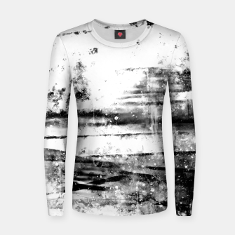 psychedelic sky clouds pattern wsbwi Women sweater miniature