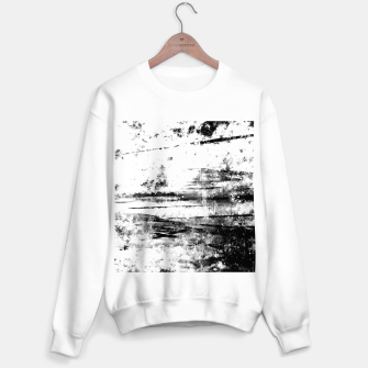 psychedelic sky clouds pattern wsbwi Sweater regular miniature