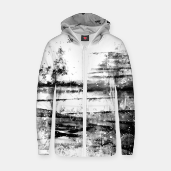psychedelic sky clouds pattern wsbwi Zip up hoodie miniature