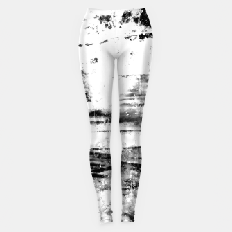 psychedelic sky clouds pattern wsbwi Leggings miniature