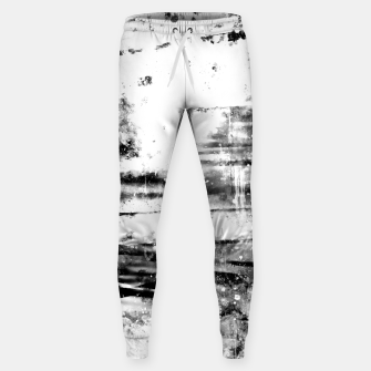 psychedelic sky clouds pattern wsbwi Sweatpants miniature