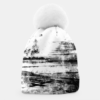 psychedelic sky clouds pattern wsbwi Beanie miniature
