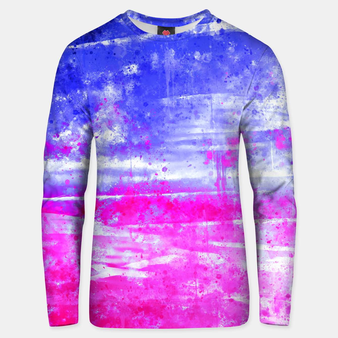 Image de psychedelic sky clouds pattern wsdb Unisex sweater - Live Heroes