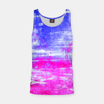 psychedelic sky clouds pattern wsdb Tank Top miniature
