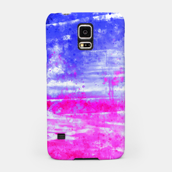 psychedelic sky clouds pattern wsdb Samsung Case miniature