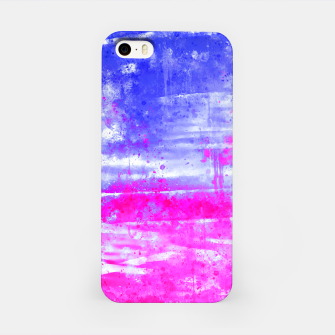 psychedelic sky clouds pattern wsdb iPhone Case miniature