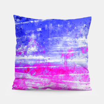 psychedelic sky clouds pattern wsdb Pillow miniature
